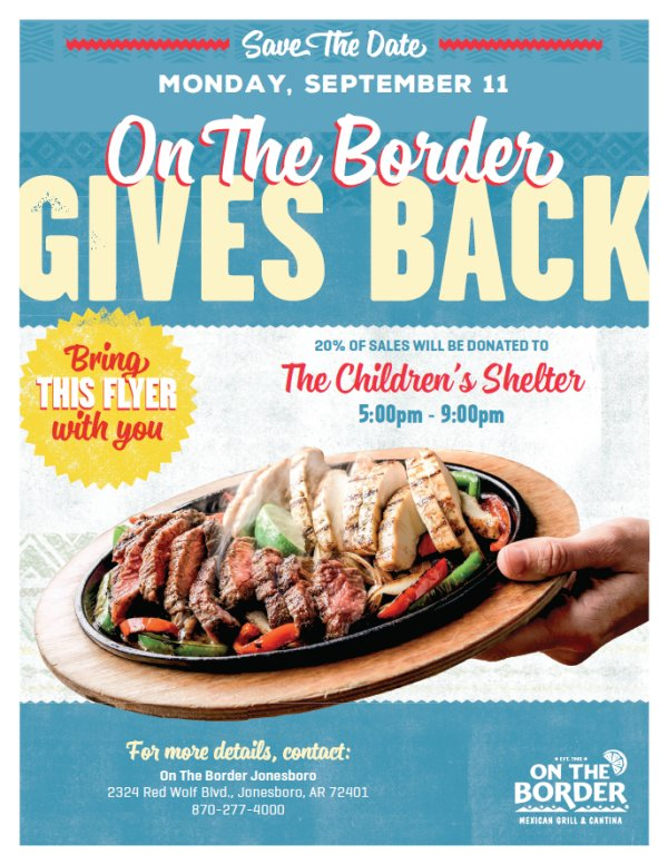 On The Border Gives Back